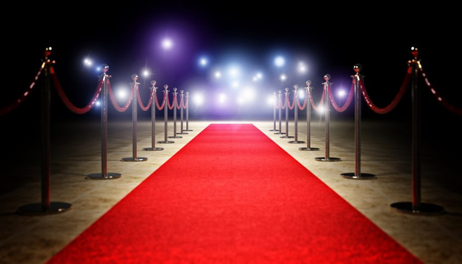 Image of a red carpet used by accountant to greet clients